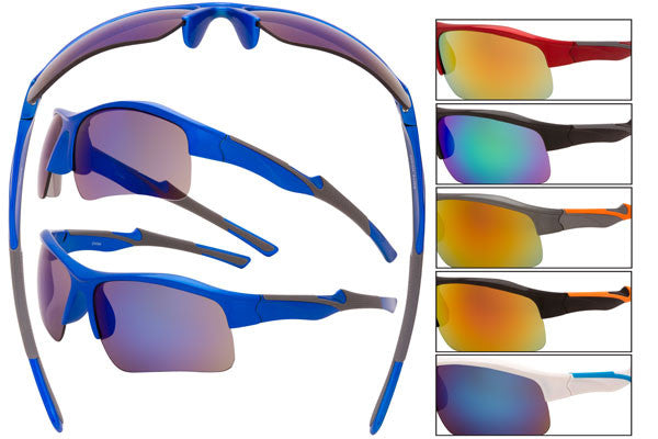 SM13 - Sport Wrap Sunglasses