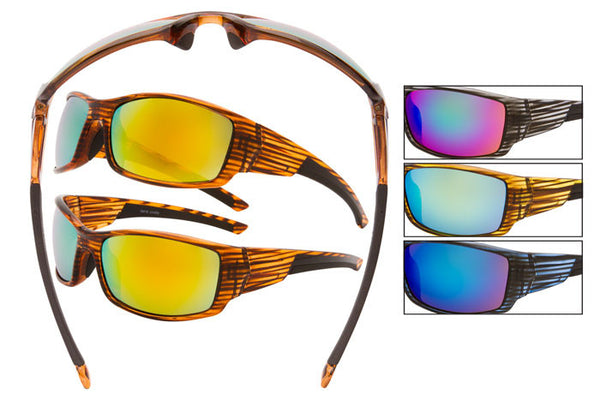 SM18 - Sports Wrap Sunglasses