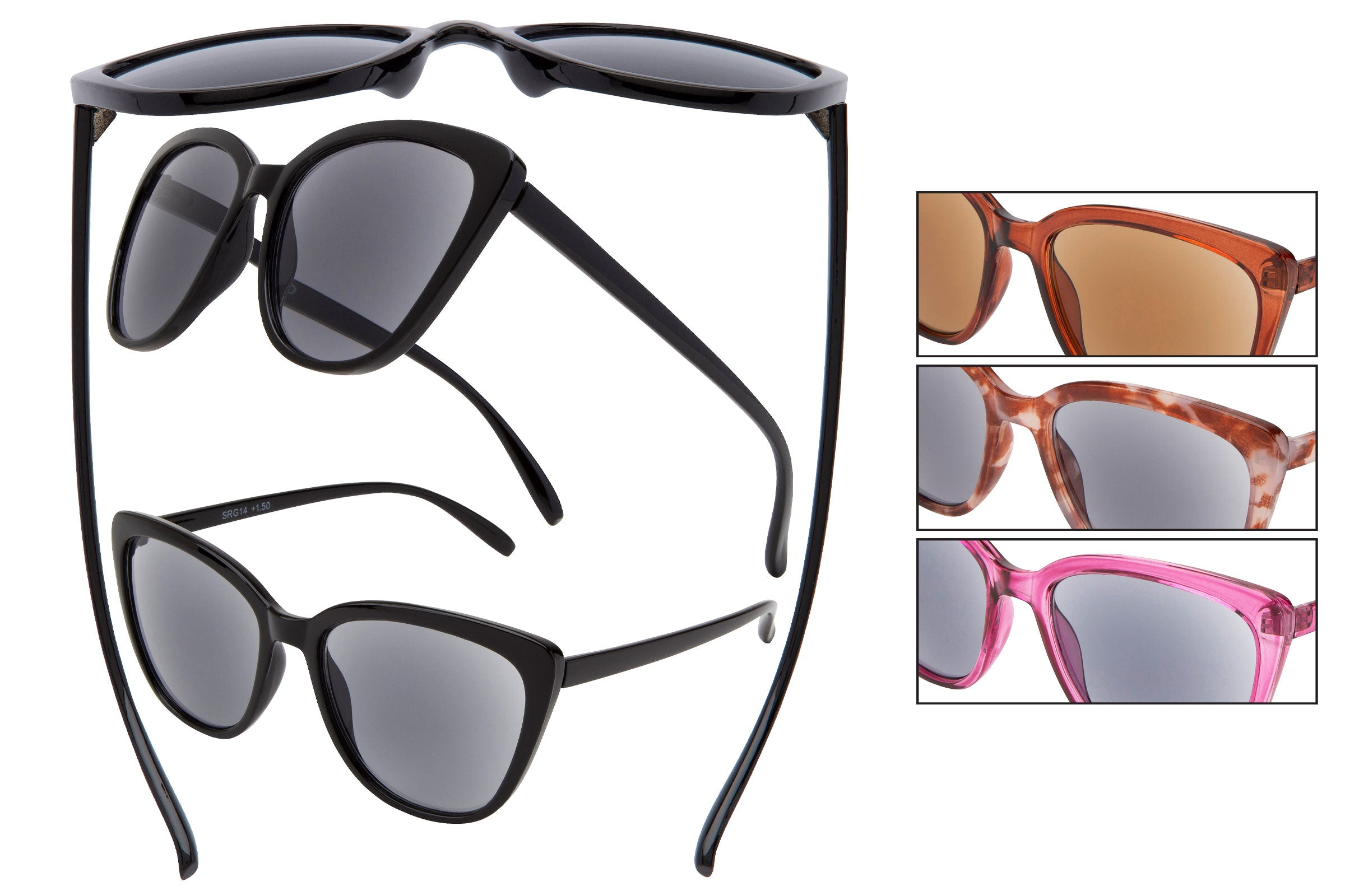 SRG14 - Reading Sunglasses Assorted Powers