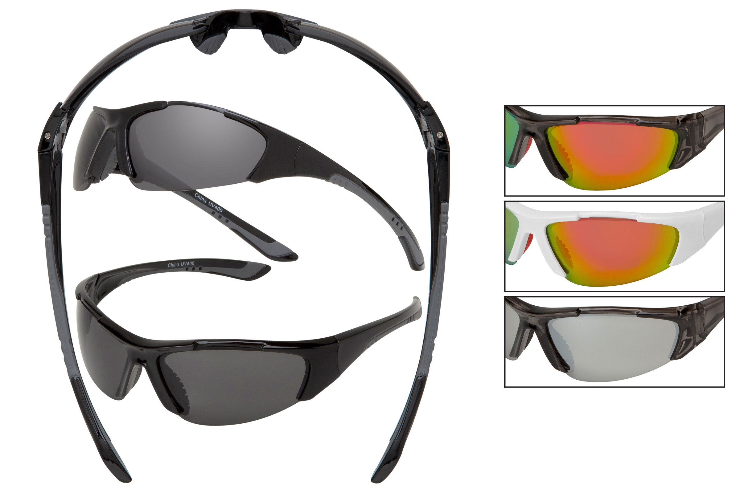 ST01 - Sport Wrap Sunglasses