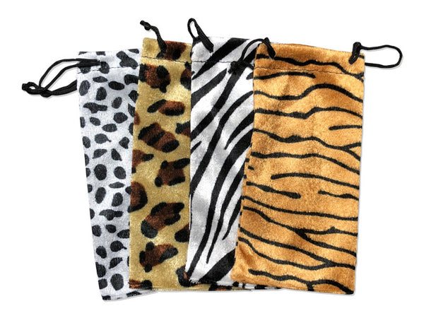 SXANIMAL - Animal Print Sunglasses Bag