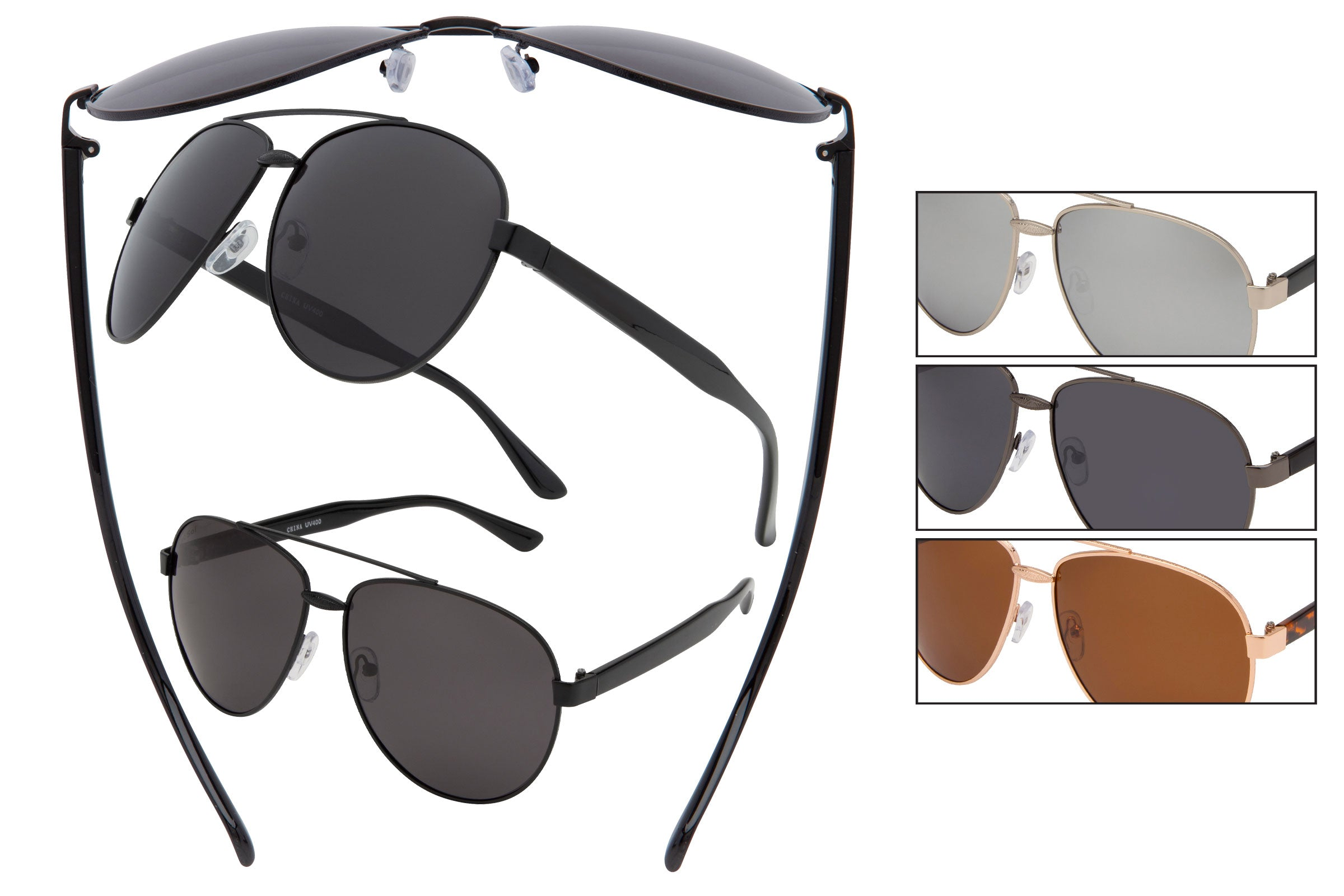 TF15P - Polarized Pilot Sunglasses