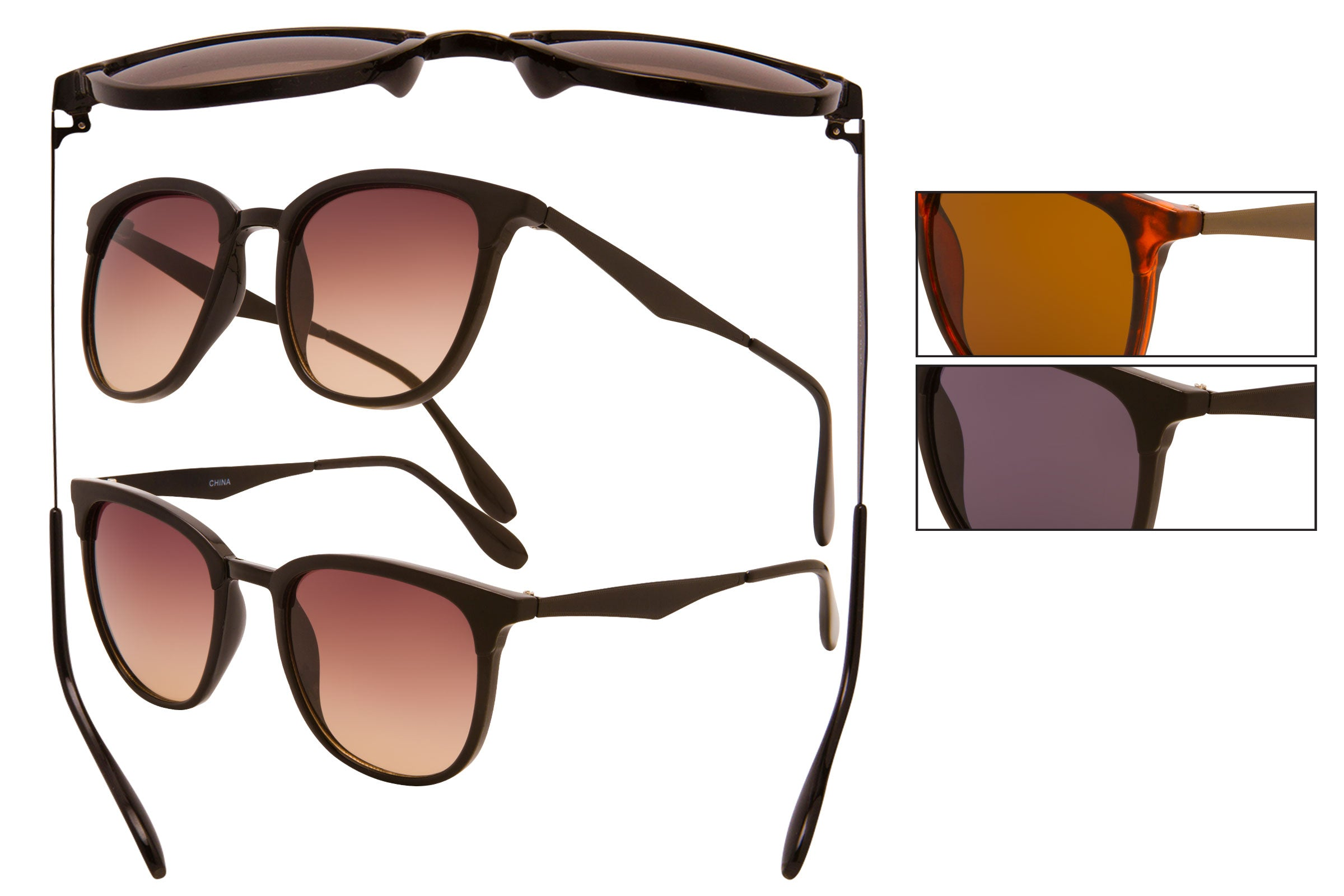 TF16 - Metal Wire Sunglasses