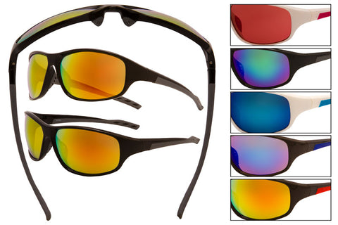 UA04 - Sport Wrap Sunglasses