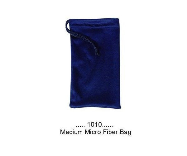 a1010 - Medium Micro Fiber Bag-Black