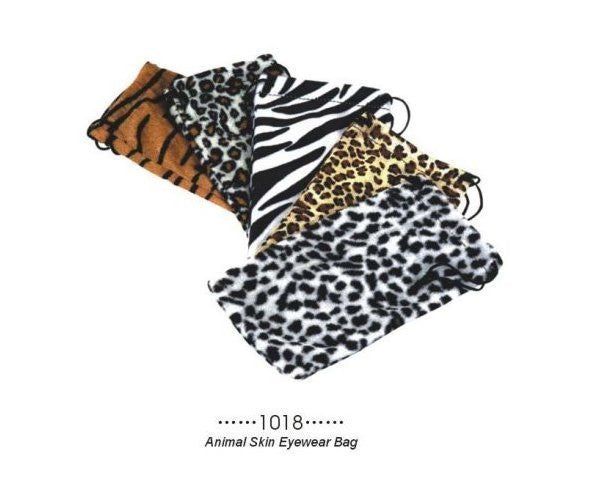 Animal Skin Eyewear Pouch-a1018
