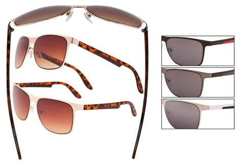 DE13 - Metal Wire Sunglasses