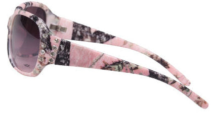 K56017 - Girls Camo Sport Sunglasses