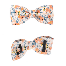 Load image into Gallery viewer, Dog Collars - Small Floral in Orange
