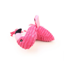 Load image into Gallery viewer, Dog Plush Toy - The Zoo Series Hot Pink Flamingo