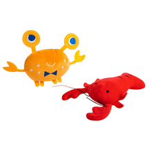 Load image into Gallery viewer, Pet Plush Toy - Ocean Series Red Lobster