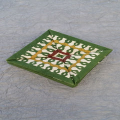 Serizawa Pattern Square inside Square Coin Purse
