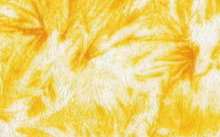 An-Jing Crumpled & Dyed Sunflower Yellow