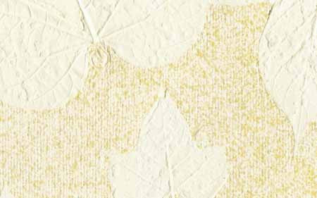An-Jing Embossed Leaves Ochre