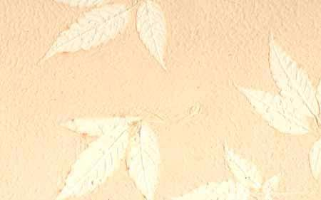 An-Jing Embossed Leaves Peach