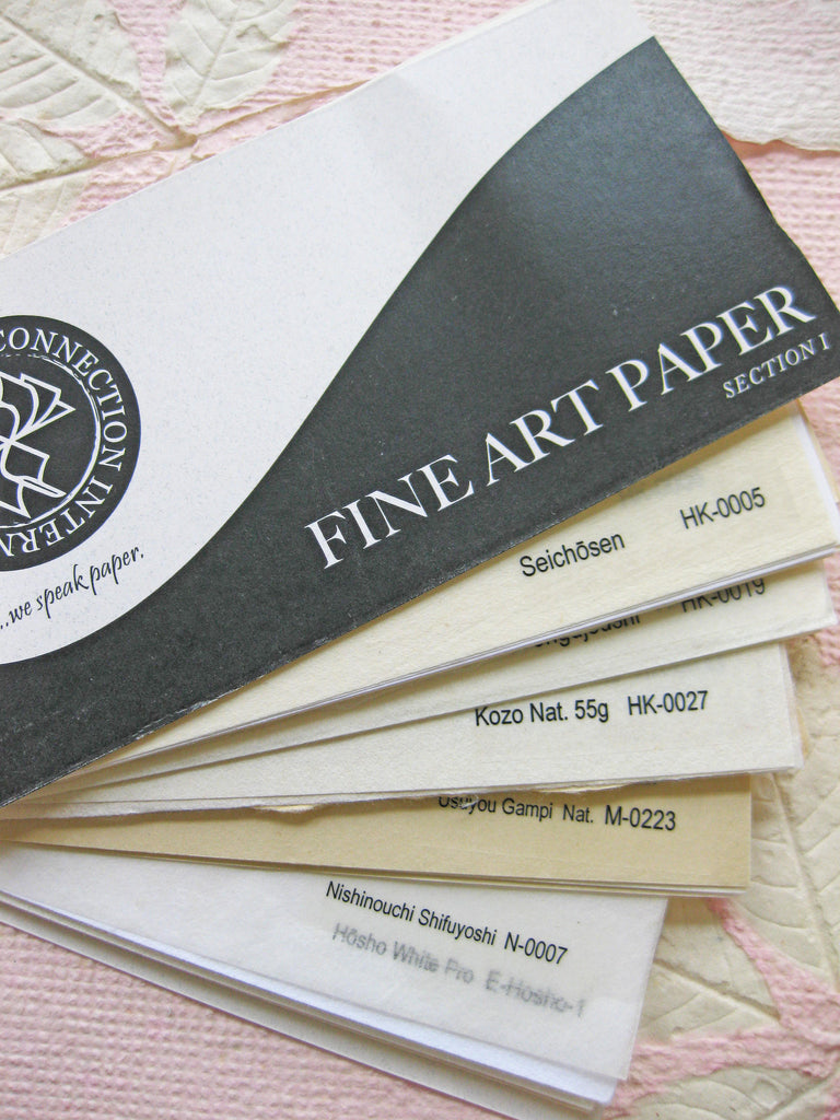 Fine Art Papers from Asia Swatchbook -Section I