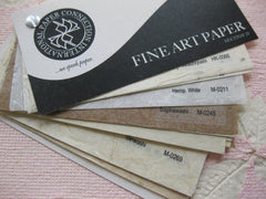 Fine Art Papers from Asia Textured and Flecked- Section II