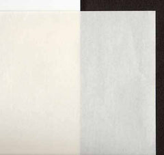 Kozo White Medium Weight Brushed Surface-G-0008