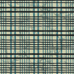 Yuzen Black and Green Plaid KA-1052