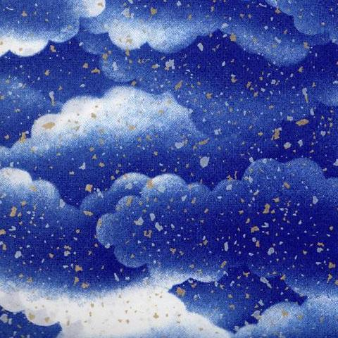 Yuzen Blue and White Clouds KA-1697