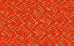 Yuzen Red with Gold Dots-KA-1926