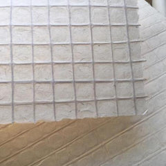 Specialty Kozo Paper with Inlaid Jute Grid