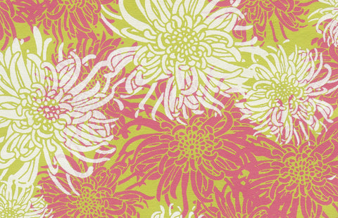 Laurelai Designs Floral Lime