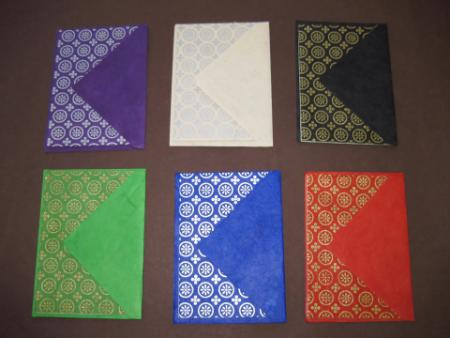 Blank Geometric Circle Metallic Print Notecards w/ Envelopes