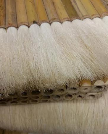 Chinese Bamboo Brush with Goat Hair Bristles