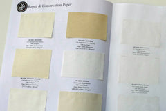 Conservation and Repair Paper Swatch Portfolio