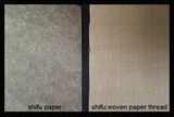 specialty paper, shifu, national treasures, weaving, mokuhanga, printmaking, conservation