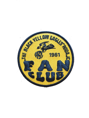 BLACK YELLOW EAGLES Patch