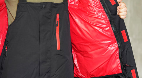 Key Feature - Gamakatsu Hyper Thermal Suit - Removable Inner Jacket