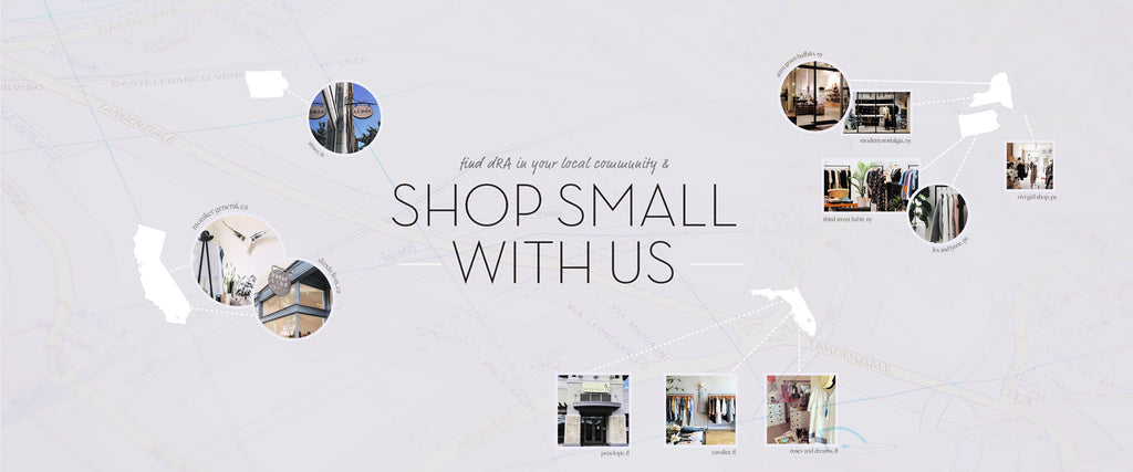 Shop Small With dRA