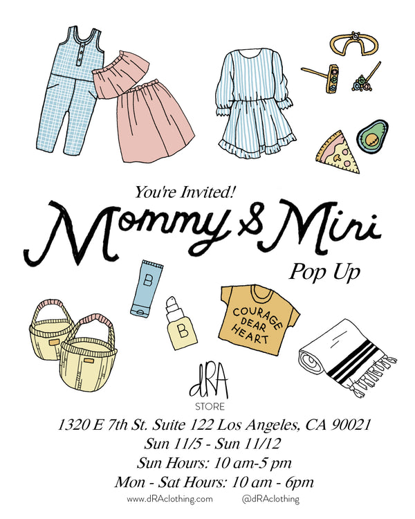 Mommy & Mini Pop Up