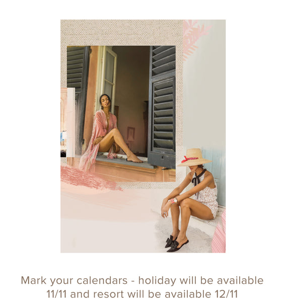 Mark your calendars - holiday will be available 11/11 and resort will be available 12/11