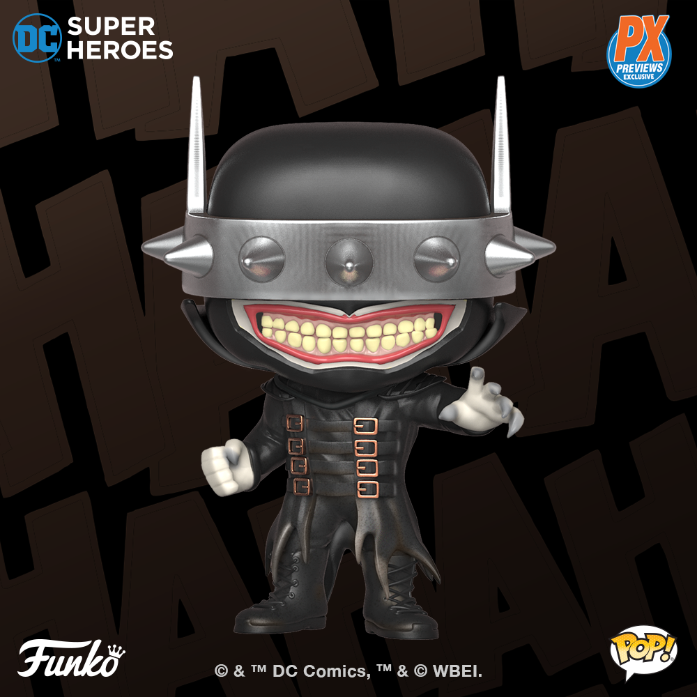 Coming Soon Previews Exclusive Batman Who Laughs Pop