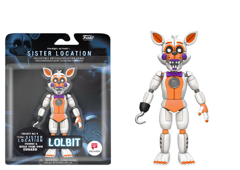 Image result for FIVE NIGHTS AT FREDDY'S - BABY AND LOLBIT ARTICULATING ACTION FIGURES