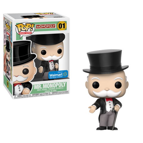 Coming Soon Walmart Mr Monopoly Funko Pop Exclusive