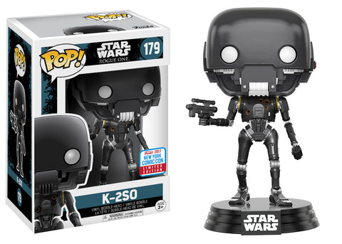 Funko Pop Nycc 2017 Star Wars Exclusives Revealed
