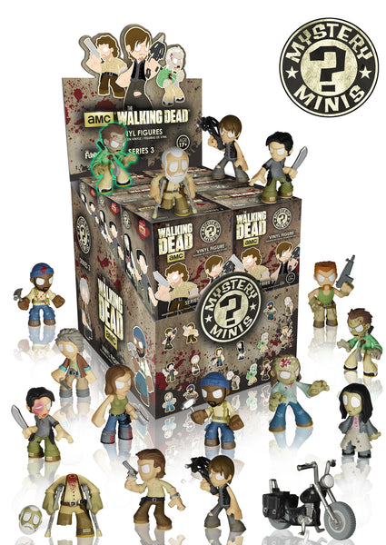 Coming Soon The Walking Dead Series 3 Mystery Minis Funko