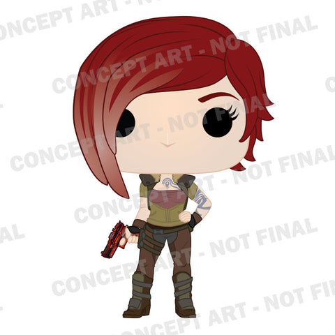 #borderlands #lilith the siren #pop #funko #toy fair 2017