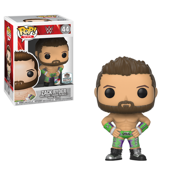 Funko Hq Exclusive Zack Ryder Pop Spotted Newtoynews