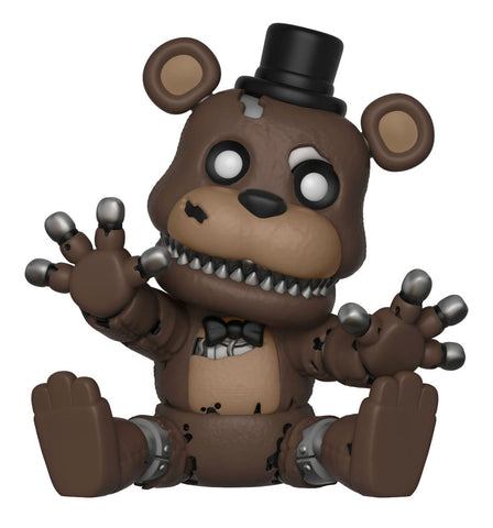 Look For New Vinyl Figures Of Five Nights At Freddys Favorites Including Toy Freddy Nightmare Plushtrap Foxy Pirate And Golden
