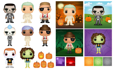 create your own halloween pop today