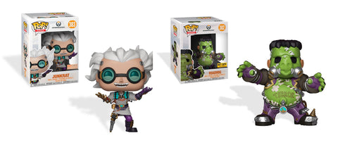 just in time for halloween boxlunch and hot topic will launch an exclusive pop set from junkensteins revenge game play the seasonal halloween terror