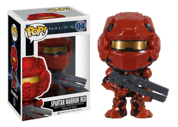 Pop! Halo 4: Spartan Warrior Red