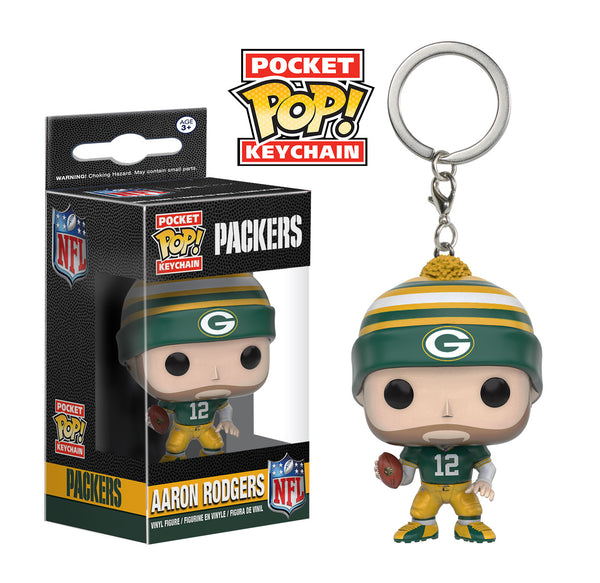 Pocket Pop! Keychain: NFL - Aaron Rodgers