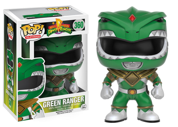 Pop! TV: Power Rangers - Green Ranger