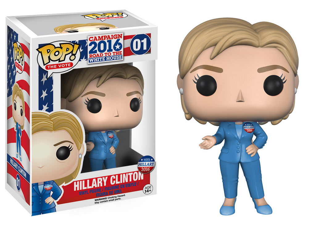 Pop The Vote Hillary Clinton Funko